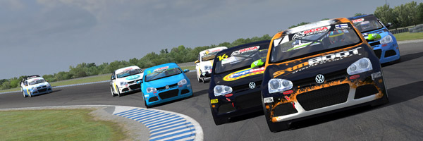 The pack at Phillip Island