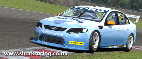 Shark Racing V8 skin