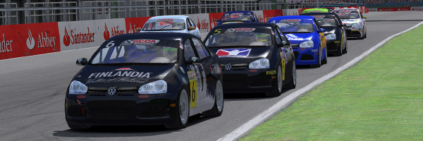 Silverstone International race gets underway